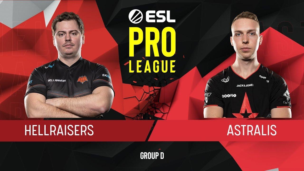 CS:GO - HellRaisers vs. Astralis [Dust2] Map 1 - Group D - ESL Pro League Season 9 Europe