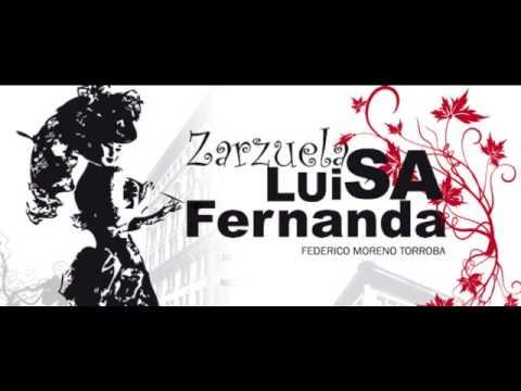 De este apacible rincon de Madrid. Luisa Fernanda. Karaoke.