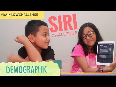 WE TRY TO SPEAK WITH SIRI !! RUDE SIRI..