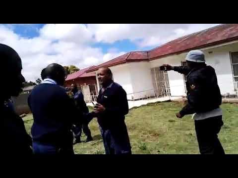Vanderbijlpark police under siedge (Assulted by angry Nigerian nationals)