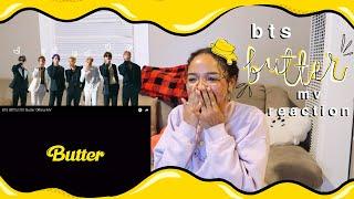 BTS (방탄소년단) 'BUTTER' OFFICIAL MV REACTION!! 🧈💛