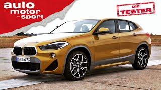 """BMW X2 xDrive20d: Die Marketing-Abteilung sagt dazu """"SUV-Coupé"""" - Test/Review   auto motor und sport"""