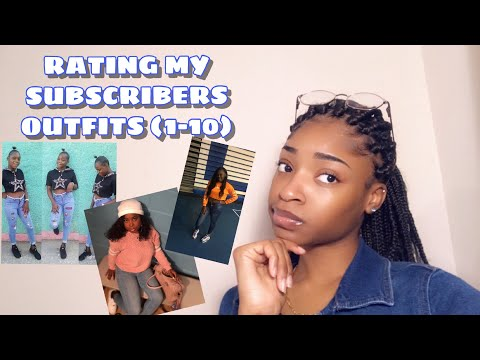 Rating My Subscribers Outfits!!!