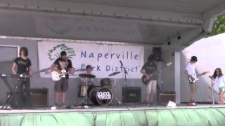 School Of Rock Naperville House Band Play Led Zeppelin @ Kite Festival