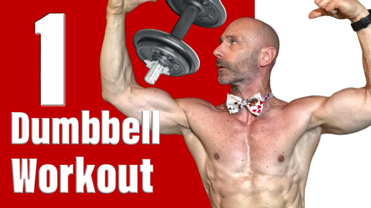 One Dumbbell Full Body Home Workout