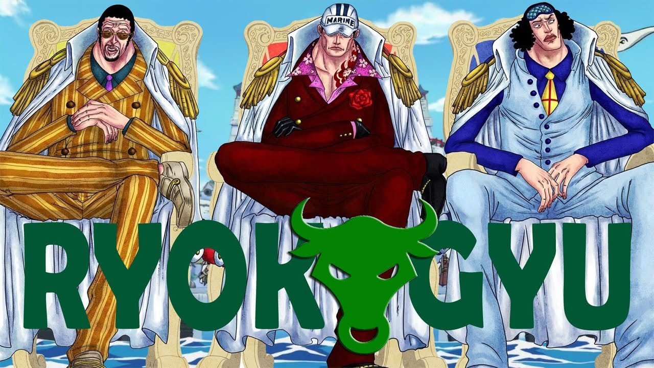 Ryokugyu - L'ultimo Ammiraglio | One Piece Teorie | Ch ...