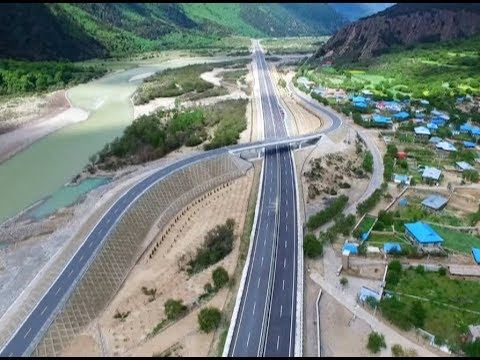 Tibet Completes Fourth Highway to Become Region with 3-Hour Transportation System