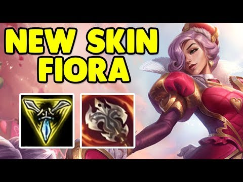 New *HEARTPIERCER* Fiora Top!! - League of Legends - Full Gameplay Commentary