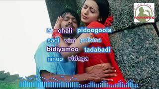 mellagaa karaganii telugu karaoke for Male singers with lyrics