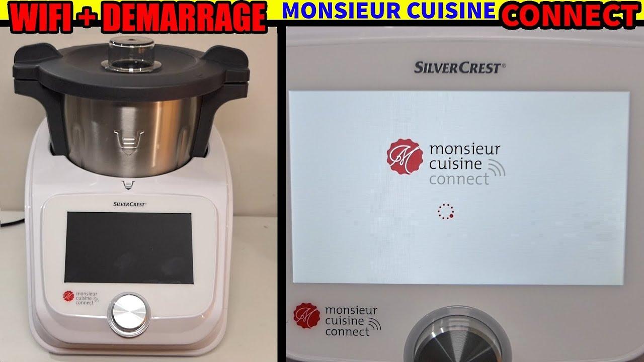 Monsieur Cuisine Connect Le Premier Démarrage Paramétrage Wifi
