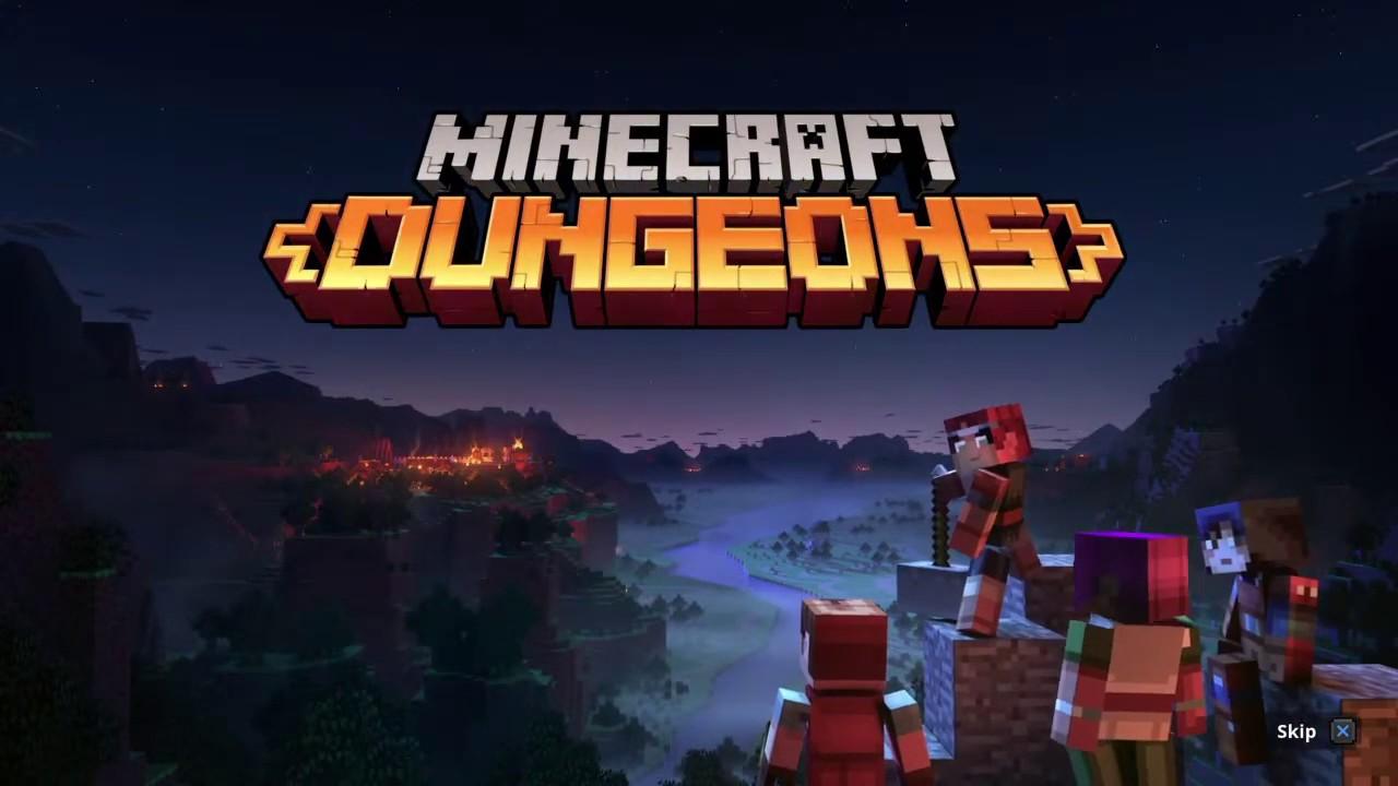Minecraft dungeons Part 1