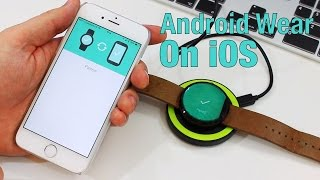 Android Wear on iOS: Setup and First Impressions w/ Moto 360