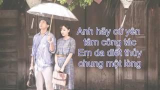 Lyrics Gửi Anh Xa Nhớ - Bích Phương - MW