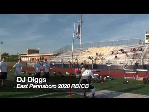 DJ Diggs - Central PA 2016 Football...