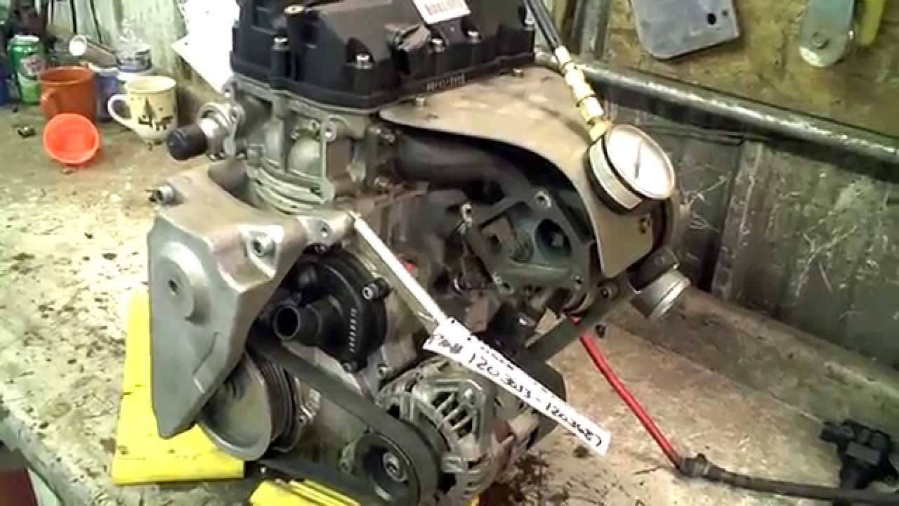 Polaris Side By Side >> LOT 1856A 2006-2013 FST Polaris Turbo Engine Compression test - YouTube