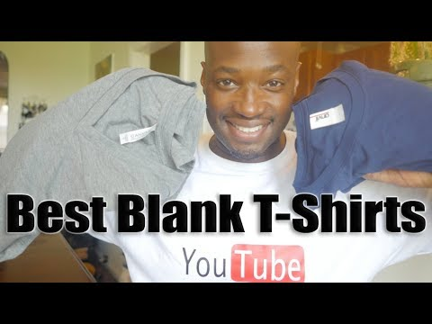 Best Blank T-Shirts Online Examples