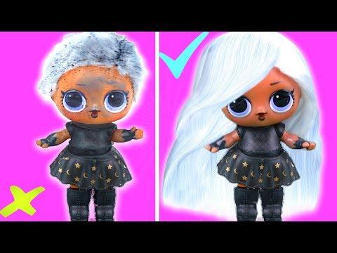Ведьмочка ЛОЛ меняет стиль! Трансформация куклы лол сюрприз в салоне красоты! Мультик LOL dolls