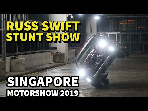 Russ Swift Stunt Show at Singapore Motorshow 2019