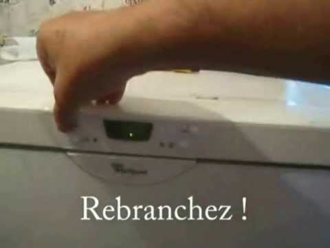 Reparation Congel Whirlpool Youtube