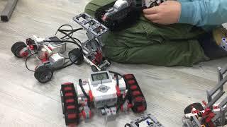 8 Урок роботы погрузчики 4