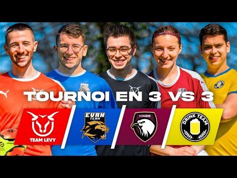 LE MEILLEUR TOURNOI DE FOOTBALL DE YOUTUBE ! (4 matchs complètement fous)