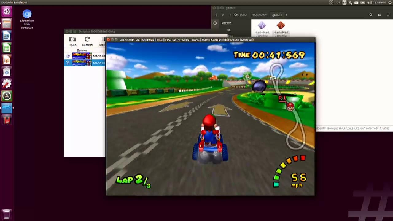 Dolphin on Switch: Mario Kart Doube Dash! (PAL 50fps)