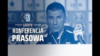 Konferencja prasowa: Lech Poznań - Zagłębie Sosnowiec 4:0