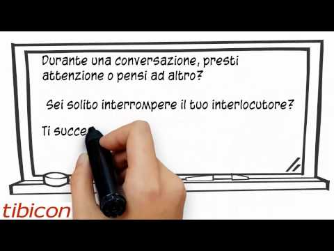 Test di autovalutazione della capacità di ascolto - Video presentazione test in e-learning (FAD)