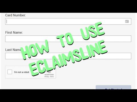 How To Use / File A Claim With Eclaimsline.com