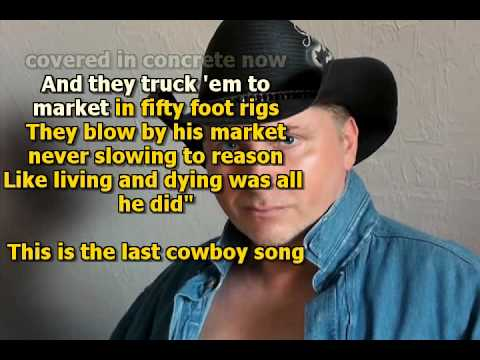 Mike Malak & The Fakers -  The Last Cowboy Song (Ed Bruce, cover song, lyrics)