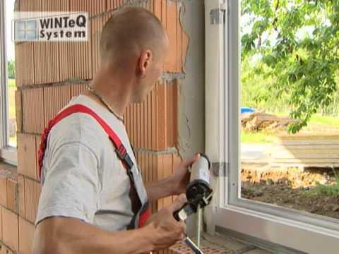 Hervorragend Fenstereinbau = Alles zur WINTeQ Montage - YouTube SF35