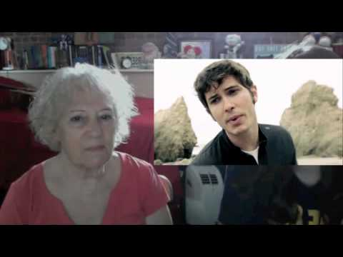 "Foreign Grandma Reacts To ""Dramatic Song"" Tobuscus"