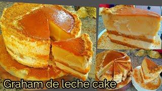 TRENDING MANGO GRAHAM DE LECHE/NO BAKE CAKE