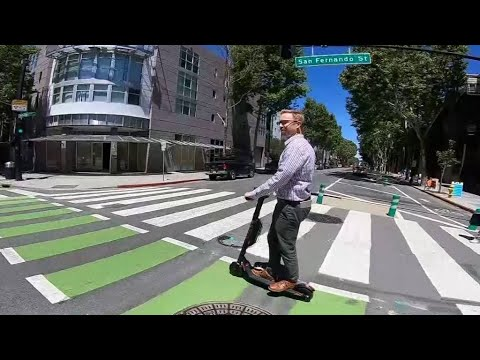 Lyft Launches Dockless Scooter Rentals in San Jose