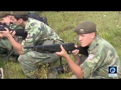 euronews (en español): Cierran un campamento militar de menores en Serbia