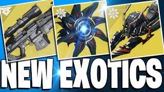 Destiny 2 - NEW EXOTICS & BLACK SPINDLE? - Hidden Cayde-6 Quest! All Solstice Of Heroes loot & More