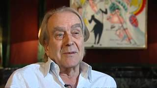 Gerald Scarfe on Scarfes Bar - ITV News Interview