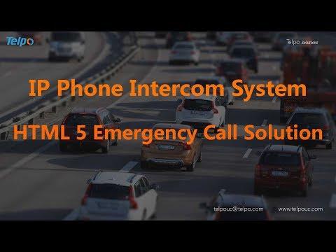 IP Phone Intercom System | HTML 5 Softphone Emergency Call Solution