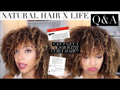Q&A: How To Take Care of Natural Hair + Life Q&A
