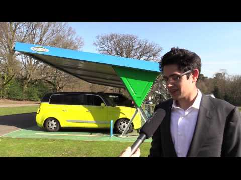 Testing the future London's solar-powered taxi