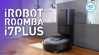 Recensione iROBOT ROOMBA i7+, l'unico robot aspirapolvere che SI PULISCE DA SOLO!