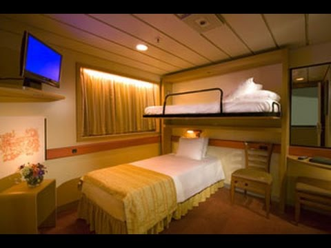 Carnival Sensation Interior Bunk Beds Room U167 Youtube