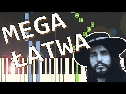 🎹 Sen o Warszawie (Czesław Niemen) - Piano Tutorial (MEGA ŁATWA wersja) 🎹