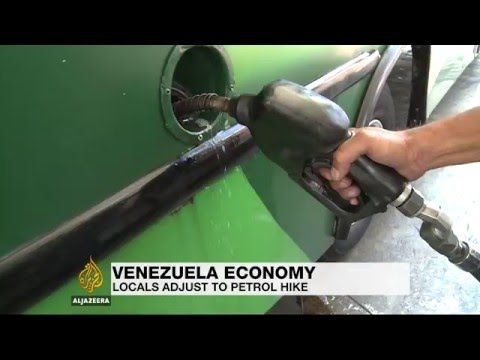Venezuelans feel effect of fuel price rises
