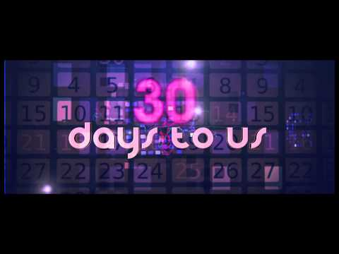 The Saturdays - 30 Days (Official Lyric Video)