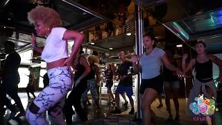 Delia Madera on the Aventura Dance Cruise 2017 - Worlds Largest Latin Dance Cruise