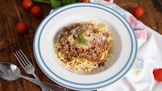 Szezonális kedvenceink: Bolognai spagetti  Mindmegette.hu