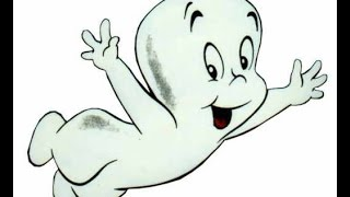 How to Draw Casper the Friendly Ghost - SUPER EASY Lesson!