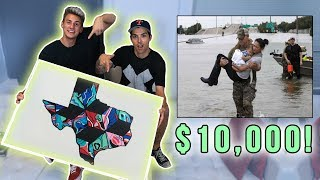 DONATING $10,000 TO HURRICANE HARVEY! Here's how...