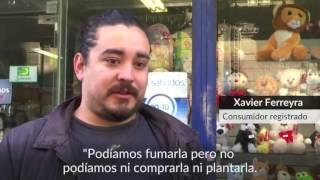 Así fue el primer día de venta legal de mariguana en Uruguay